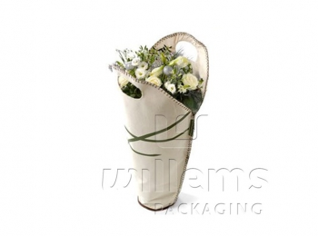 Canvas (eco friendly) Flowerbag