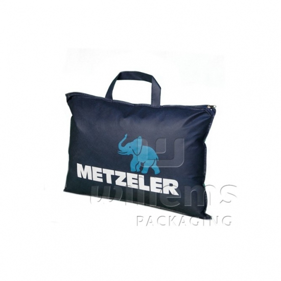 Practical printed pillow carrier bag