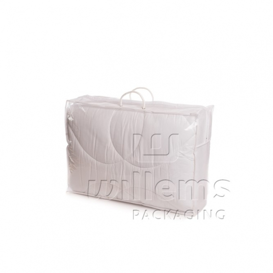 transparent LDPE Bag with PP non woven for Duvets