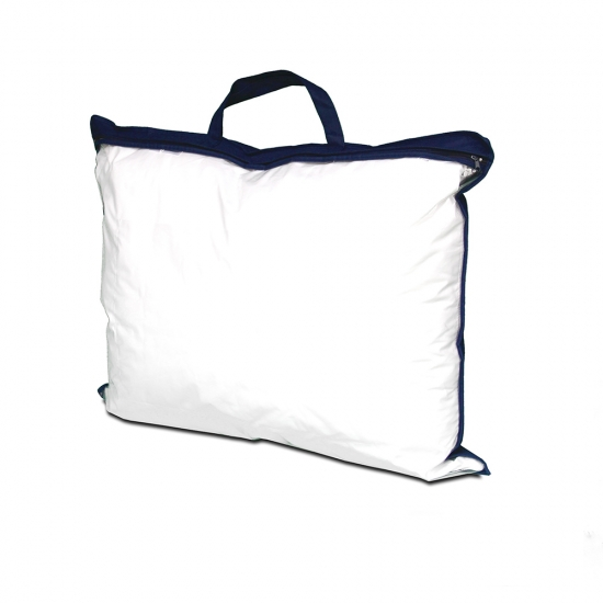 PVC and PP non-woven carrier bag blue, Willems Packaging
