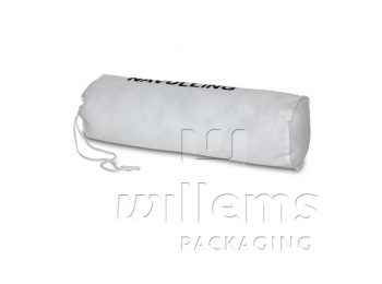 Drawstring bag for pillow refill